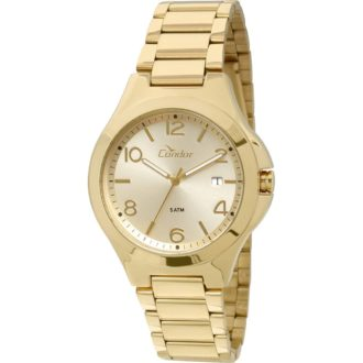 3c2600a3422 Relógio Feminino Analógico Condor CO2115SW4X – Dourado